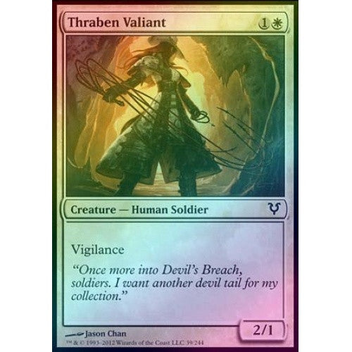 Thraben Valiant (Foil) (AVR) available at 401 Games Canada