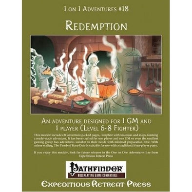 Buy Pathfinder - Module - 1 on 1 Adventures: #18 Redemption and more Great RPG Products at 401 Games