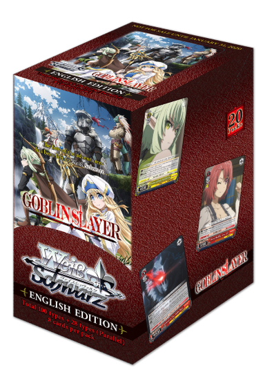 Weiss Schwarz - Goblin Slayer Booster Box  (Pre-Order January 31, 2020)
