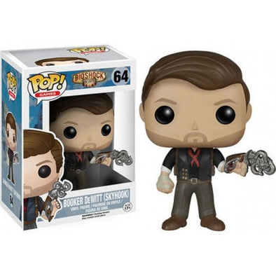 Buy Pop! Bioshock Infinite - Booker DeWitt (Skyhook) and more Great Funko & POP! Products at 401 Games