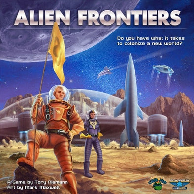 Alien Frontiers 5th Edition (Restock Pre-Order) available at 401 Games Canada