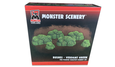 Monster Scenery - Bushes - Verdant Green available at 401 Games Canada