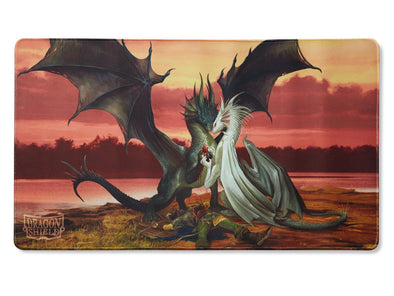 Buy Dragon Shield - Limited Edition Playmat - Valentines Dragons and more Great Sleeves & Supplies Products at 401 Games