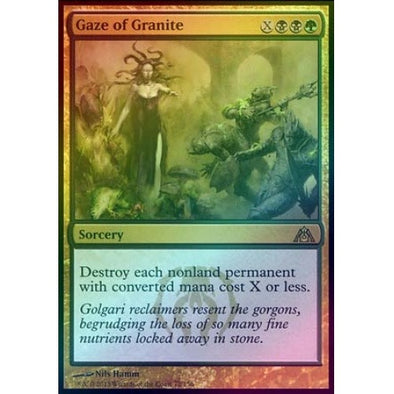 Gaze of Granite (Foil) (DGM) - 401 Games