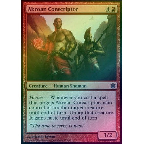 Akroan Conscriptor (Foil) (BNG) - 401 Games