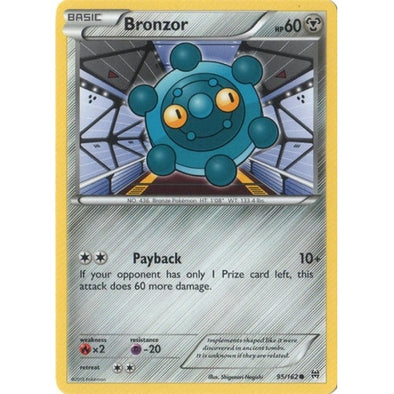 Buy Bronzor - 95/162 and more Great Pokemon Products at 401 Games