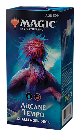 Buy MTG - Challenger Decks 2019 - Arcane Tempo and more Great Magic: The Gathering Products at 401 Games