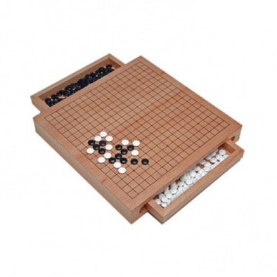 Buy Go - Set with Drawers 12 Inch - Wood Expressions and more Great Board Games Products at 401 Games