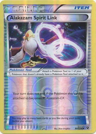 Buy Alakazam Spirit Link - 90/124 - Reverse Foil and more Great Pokemon Products at 401 Games