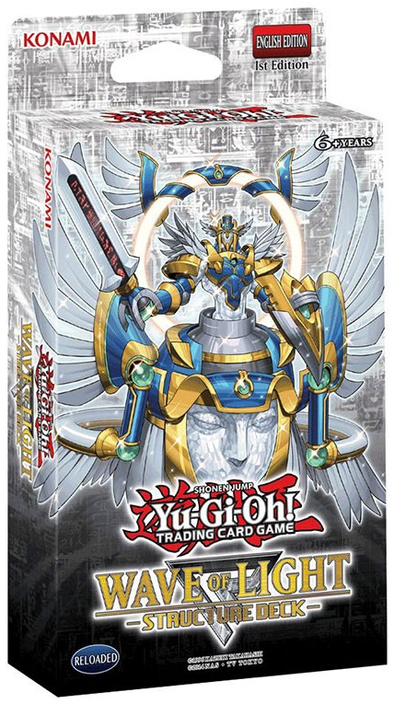 Yugioh - Wave of Light Structure Deck (Pre-Order Jan 18 ,2017) - 401 Games