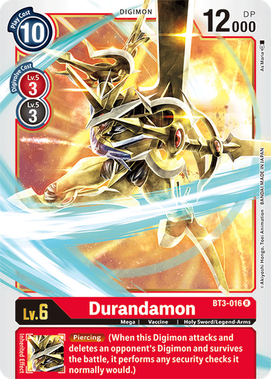 Durandamon (BT3-016) available at 401 Games Canada
