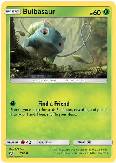 Buy Bulbasaur - 1/18 and more Great Pokemon Products at 401 Games