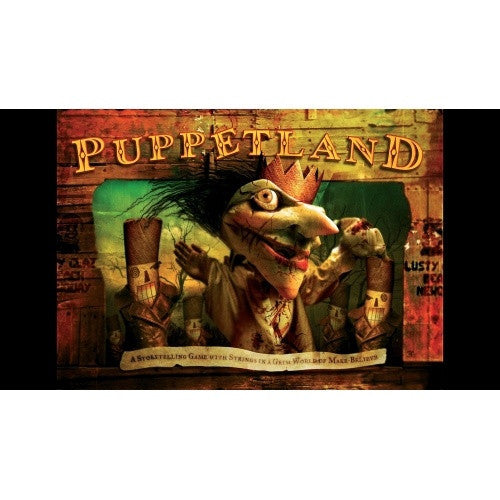 Buy Puppetland - Core Rulebook and more Great RPG Products at 401 Games