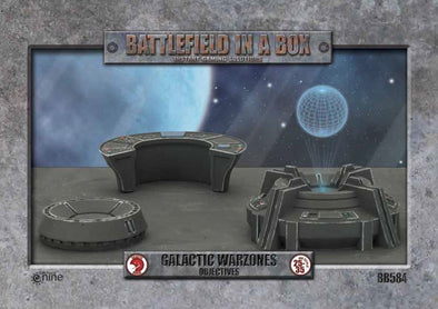 Buy Battlefield in a Box - Galactic Warzones - Objectives and more Great Tabletop Wargames Products at 401 Games