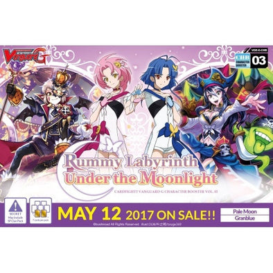 Buy Cardfight!! Vanguard - Rummy Labyrinth Under The Moonlight Booster Box and more Great Cardfight!! Vanguard Products at 401 Games