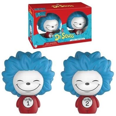 Dorbz - Dr.Seuss - Thing 1 and Thing 2 - 2 Pack - 401 Games