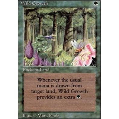 Wild Growth (3ED) - 401 Games