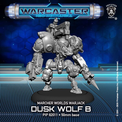 Warcaster - Neo-Mechanika - Marcher Worlds - Dusk Wolf (Variant B) - 401 Games