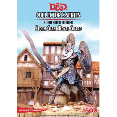 Dungoens and Dragons Miniature Collector's Series -Storm KIng's Thunder - Storm Giant Royal Guard - 401 Games