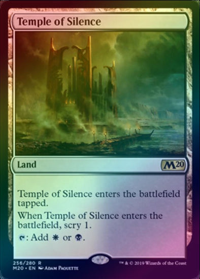 Temple of Silence (Foil) (M20) - 401 Games