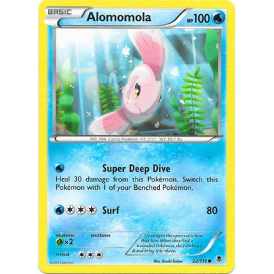 Buy Alomomola - 22/119 and more Great Pokemon Products at 401 Games