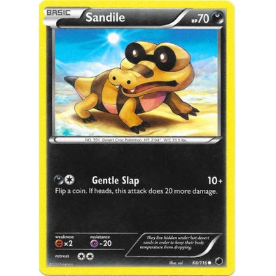 Sandile - 68/116 - Reverse Foil (PLF068R) available at 401 Games Canada