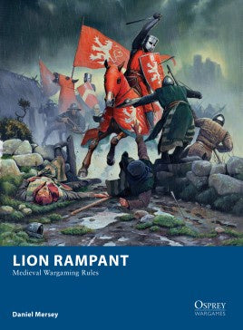 Osprey Wargames - 08 - Lion Rampant - Medieval Wargaming Rules available at 401 Games Canada
