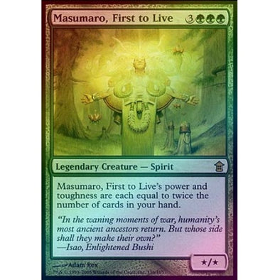 Masumaro, First to Live (Foil)
