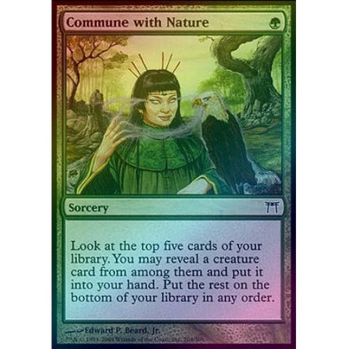 Commune with Nature (Foil) (CHK) - 401 Games
