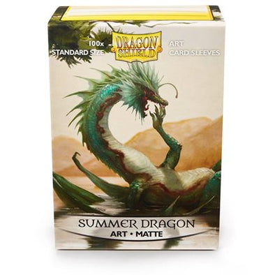 Dragon Shield - 100ct Standard Size - Art - Summer Dragon - 401 Games