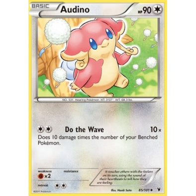 Buy Audino - 85/101 - Reverse Foil and more Great Pokemon Products at 401 Games