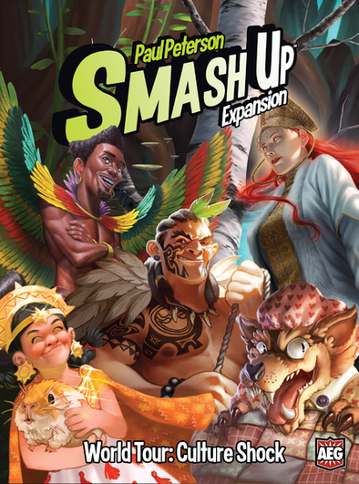 Buy Smash Up - World Tour- Culture Shock (Pre-Order) and more Great Board Games Products at 401 Games