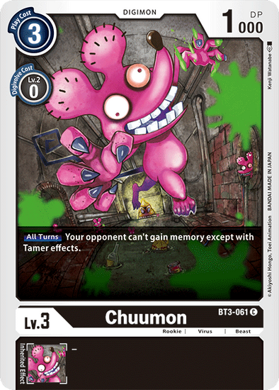 Chuumon (BT3-061) available at 401 Games Canada
