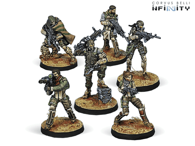 Infinity - Haqqislam - Hassassin Bahram - Starter Pack available at 401 Games Canada