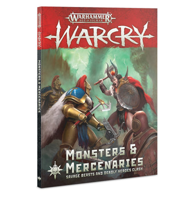 Warhammer - Age of Sigmar - Warcry - Monsters & Mercenaries available at 401 Games Canada