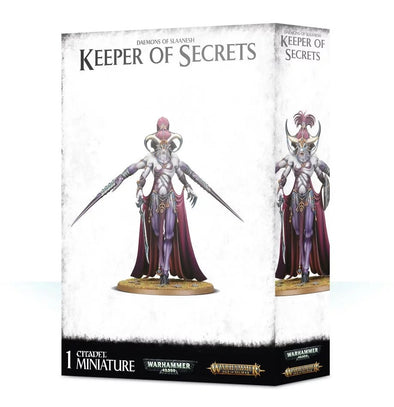 Warhammer - Age of Sigmar - Daemons of Slaanesh - Keeper of Secrets - 401 Games