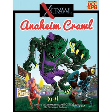 Dungeon Crawl Classics - XCrawl Anaheim Crawl - 401 Games