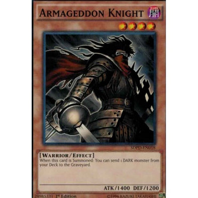 Armageddon Knight available at 401 Games Canada