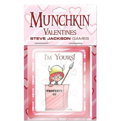 Munchkin - Valentines available at 401 Games Canada