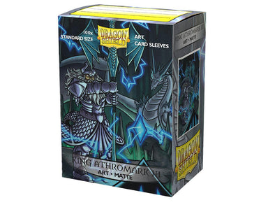 Dragon Shield - 100ct Standard Size - Art - King Athromark III Matte - 401 Games