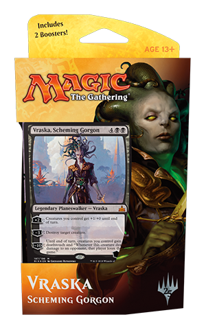 Buy MTG - Rivals of Ixalan - Planeswalker Deck Vraska and more Great Magic: The Gathering Products at 401 Games