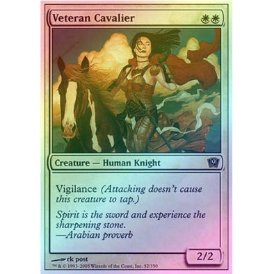 Veteran Cavalier (Foil) available at 401 Games Canada