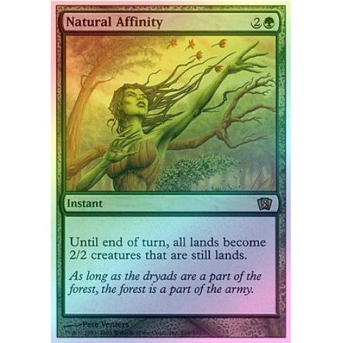 Natural Affinity (Foil) available at 401 Games Canada