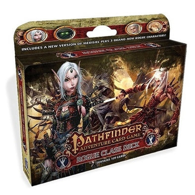 Buy Pathfinder Adventure Card Game - Rogue Class Deck and more Great Board Games Products at 401 Games