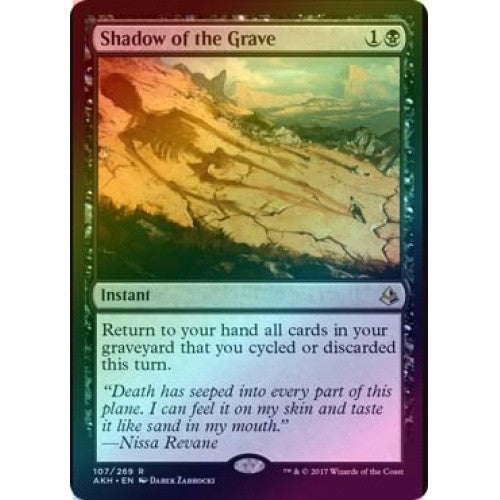 Shadow of the Grave (Foil) (AKH) available at 401 Games Canada