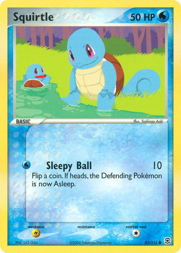Squirtle - 82/112 (FRLG082) available at 401 Games Canada