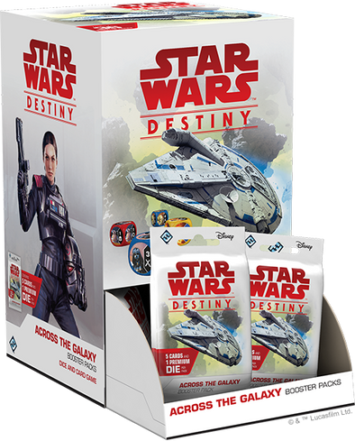 Star Wars Destiny - Across the Galaxy - Booster Box