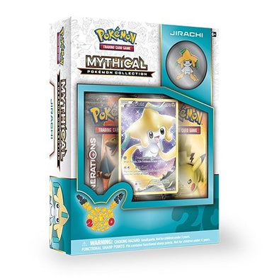 Buy Pokemon - Mythical Collection Jirachi (Generations) and more Great Pokemon Products at 401 Games