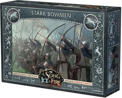 A Song of Ice and Fire - Tabletop Miniatures Game - House Stark - Stark Bowmen - 401 Games