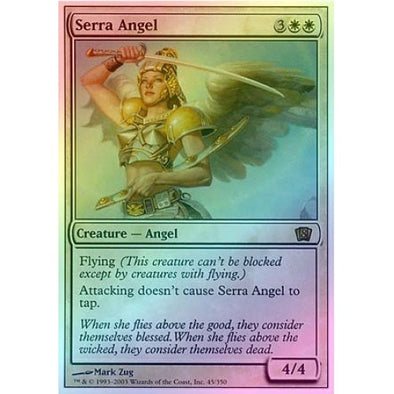 Serra Angel (Foil) available at 401 Games Canada